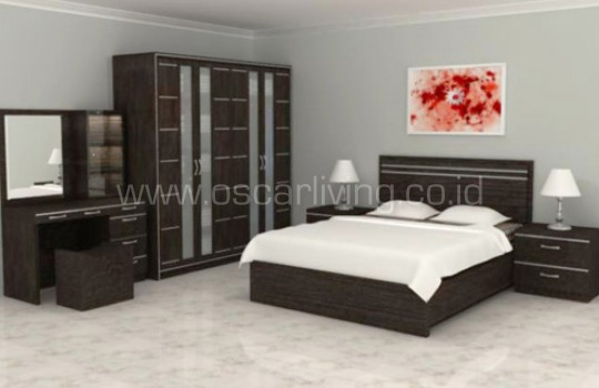 Bed Set Design Ruang Oliver