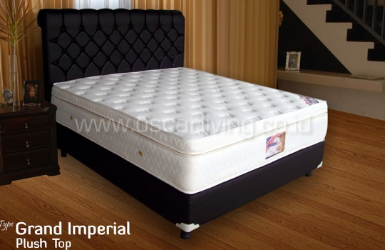 Kasur American Pillo Grand Imperial Plushtop Sandaran Royal Lavayete