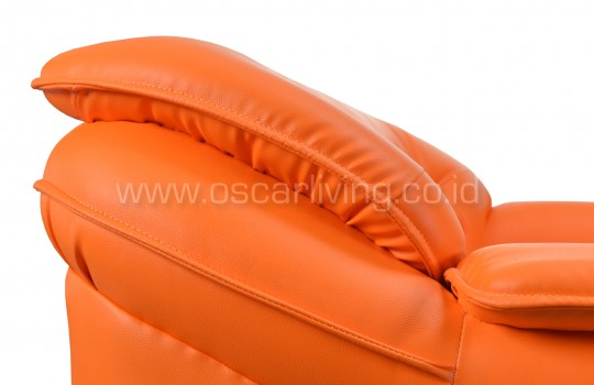Sofa Xena 221 Full Set - Orange