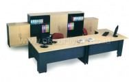 Office Set Brilliant Maple Stylish