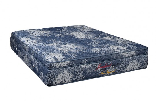 Javaland Springbed New Imperial Plush Top HB Queenstown - Biru