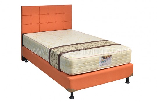 Guhdo New Prima 15Cm Bedset Sydney Sweet Orange