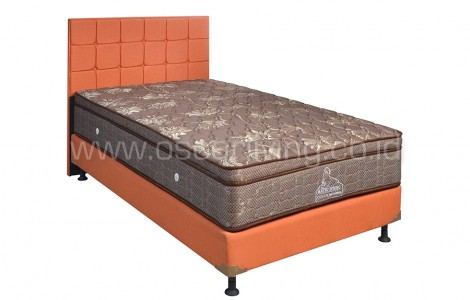 Kasur Matto Yama Bedset Sydney Sweet Orange