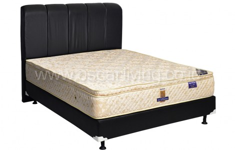 Kasur Uniland Simphony Single Pillowtop Sandaran Vadia