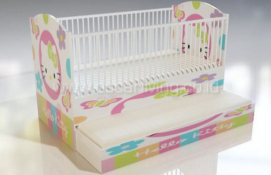 Baby Box Design Ruang Hello Kity