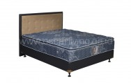 Central Grand Deluxe Single Pillowtop Bedset Queenstown Oreo - Biru