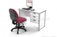 HighPoint One Clerical Desk