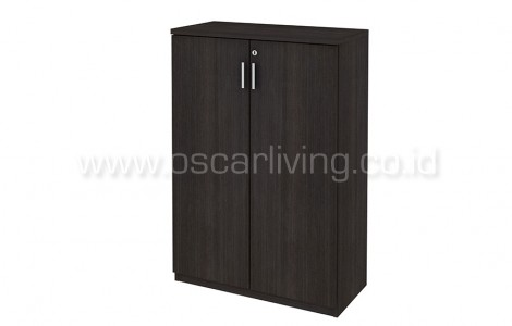 Lemari Arsip Medium Expo DMC00+DC02 Dark Oak