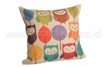 Bantal Sofa Decorative Motif Happiness Birds QQ6
