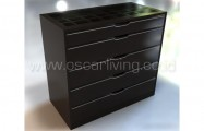 Drawer Design Ruang Silver