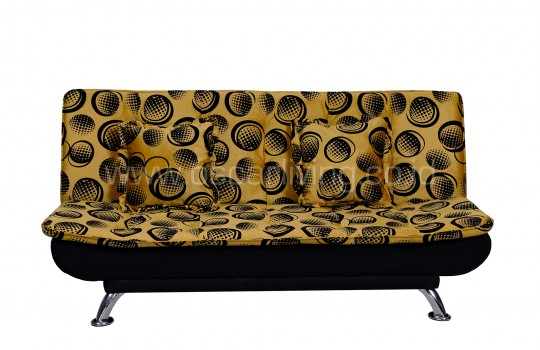 OLC Sofabed Boston Volcadot Gold