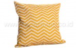 Bantal Sofa Decoration Motif Zig Zag Yellow Q2578