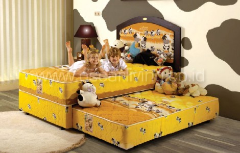 kasur American Pillo kids yellow cowdy