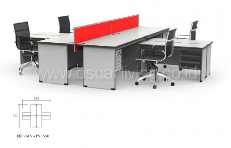 Workstation Grand Furniture Nova Shared 23B