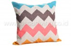 Bantal Sofa Decoration Motif Big Zig Zag Q3084