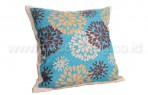 Bantal Sofa Decoration Motif Brown Leaf Q1895