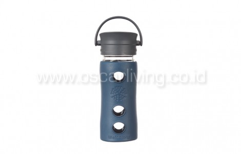 Lifefactory 12oz Bottle Cafe Marine