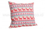 Bantal Sofa Decoration Motif Christmast Deer Q1876