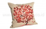 Bantal Sofa Decorative Motif Love Tree Q58