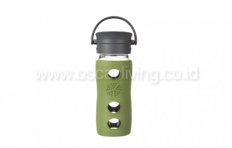 Lifefactory 12oz Bottle Cafe Sage