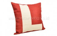 Bantal Sofa Decoration Motif Letter [ L ] Q3392