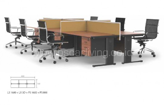 Workstation Grand Furniture Call Center 6A