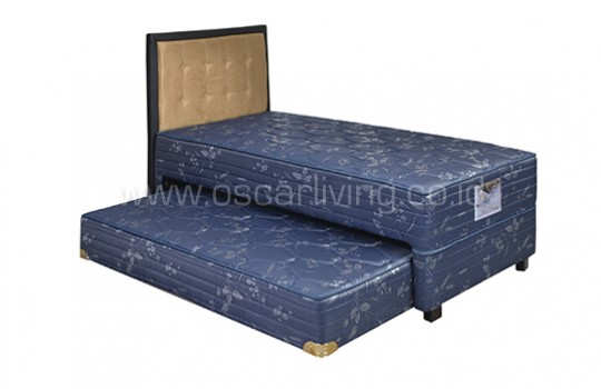 Guhdo Springbed New Prima 2in1 Sandaran Queenstown - Biru