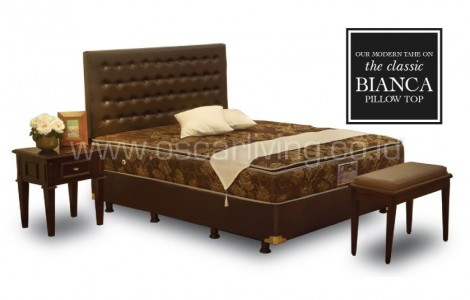 Kasur Central Deluxe Single Pillowtop Bianca