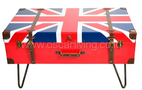 OLC Coffee table Union Jack Vintage