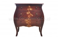 OLC Side Table Luna  3 Laci Flower