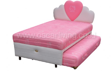 Kasur Bigland HELLO KITTY TWIN BED CLASSIC SANDARAN HATI