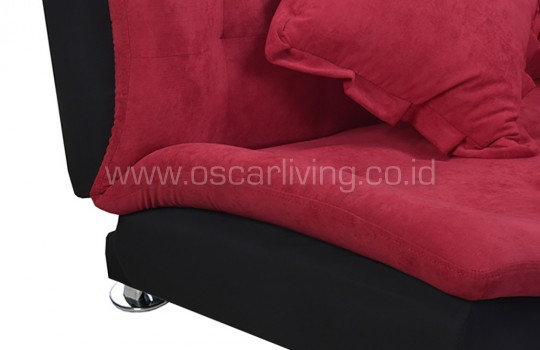 Sofabed Boston Polos - Red Velvet
